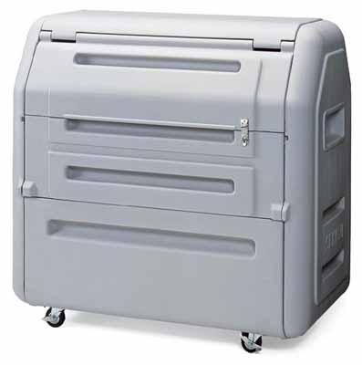 コクヨ 集積タイプ リサイクルボックス 幅1160×奥行き710×高さ1160mm【PF-EW700】