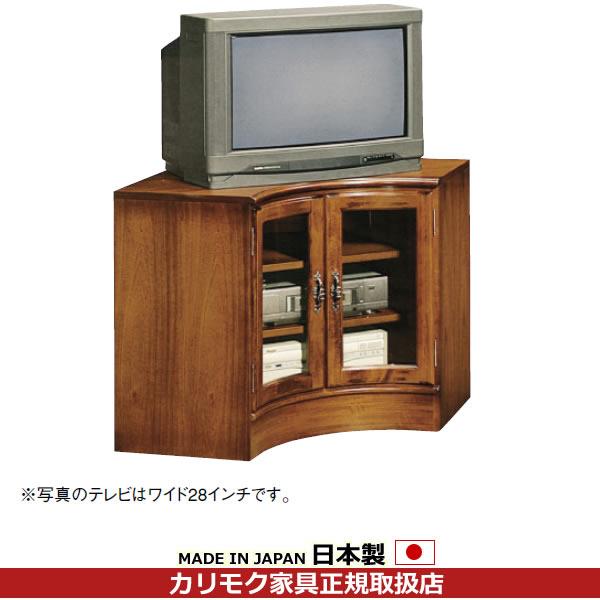 カリモク リビングボード/コロニアル コーナーボード 幅1223・865mm【QC4008NK】