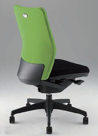 オフィスチェア シェルモ shellmo 事務用チェアーWE型 ハイバック 肘なし【WE512F】