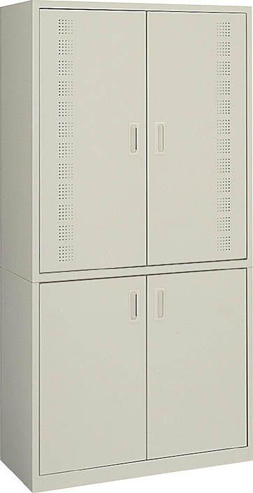コクヨ ビジネスキッチン スチール食器収納ユニット 幅900mm×高さ1790mm 【BK-30F1N】