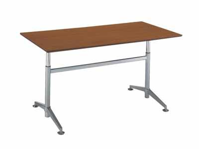 コクヨ ビューライズ 固定脚タイプ テーブル 配線キャップ4個付き 幅1800×奥行き900×高さ700~1050mm【MT-506W-E】