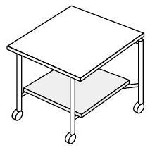 コクヨ モノコラ コラボレーションテーブル ICTテーブル用 オプション 棚板【MTA-MN69ST】