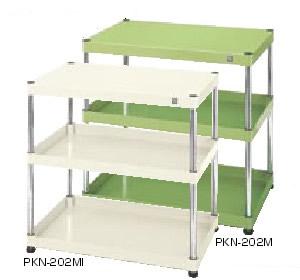 サカエ ニューパールワゴン 固定タイプ 均等耐荷重:200kg【PKN-202MAN】