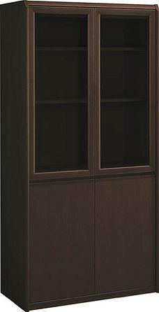 コクヨ 役員室用家具 マネージメントS200シリーズ 両開き書棚【MG-S20SGN】