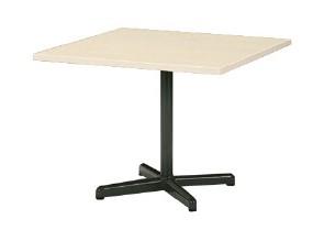 MEETING STYLE LM TABLE 十字脚タイプ 正方形 幅750×奥行き750×高さ700mm 【LM-075CS】