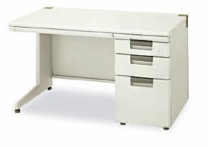 オフィスデスク リンクス【LX-1】 片袖机 4段袖 (611806)【LX-167D-4】