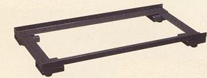 サカエ アジャスターベース 均等耐荷重:240kg【E-HSAB1D】