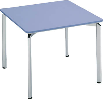 コクヨ 会議 ミーティング用テーブル カリブ スチール脚 塗装天板 正方形 幅900×奥行き900mm【MT-185N】