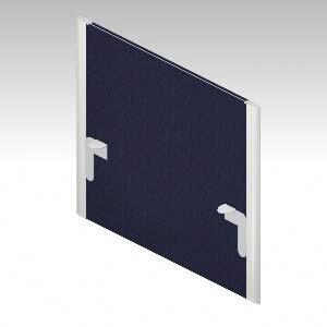 XFタイプI デスクアクセサリー デスクフロントパネル/H400(天板上高さ) PET 再生クロス (628135)【XI-087PM】