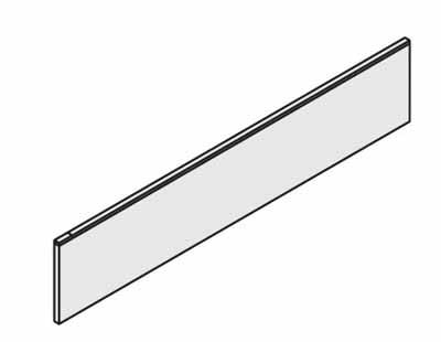コクヨ レヴィスト デスクシステム オプション デスクトップパネル 高さ350mmタイプ フロント用 幅1500mm【SDV-LV153N】