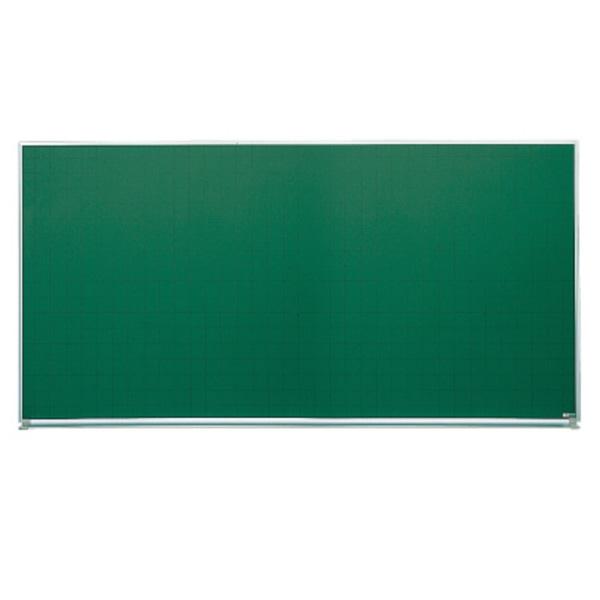 ホワイトボード グリーンボード(アルミホーロータイプ) 壁掛けタイプ 幅1800mm グリーン暗線 (44601)【SG-B36】