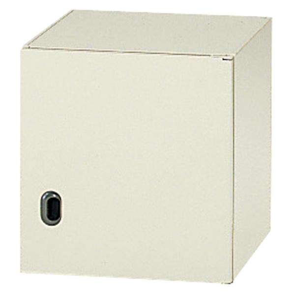 システム収納庫 LX-5 デッドスペース活用型 標準型 片開き保管庫 上置き 高さ460mm (615179)【L5-50ACR】