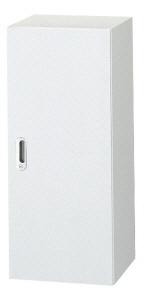 システム収納庫 LX-5ホワイト 片開き保管庫 デッドスペース活用型 上置き・下置き兼用 高さ1050mm (635356)【L5-105AC-W4】