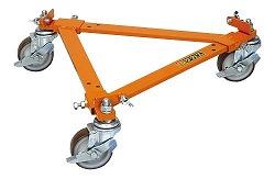 ドラムキャリー 直径420~620×高さ106mm 均等耐荷重:170kg【DRC-2】