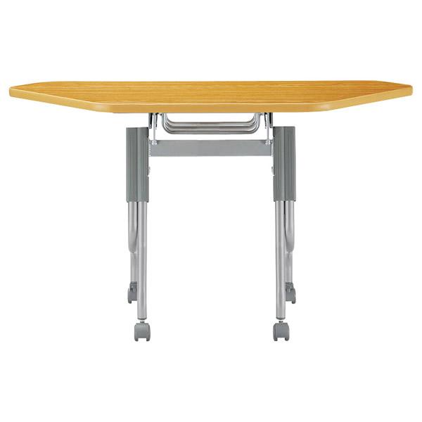 コーナーテーブル【塗装脚パネルなし・幅1248×奥行き450mm】パネル無し【STS-45SE-M3】
