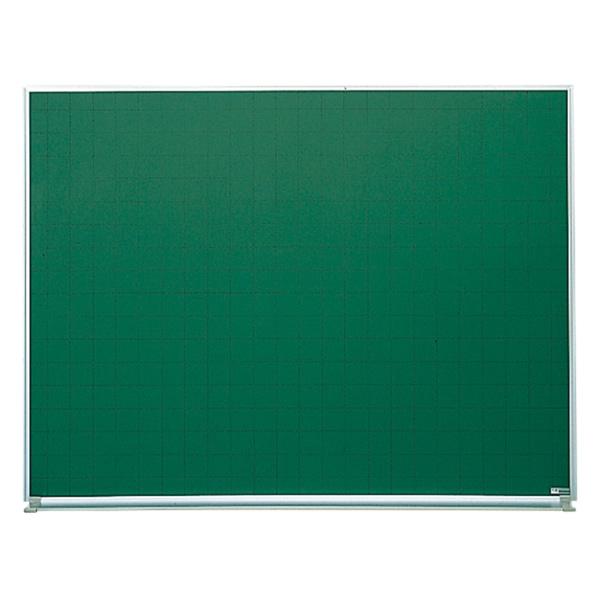 ホワイトボード グリーンボード(アルミホーロータイプ) 壁掛けタイプ 幅1200mm グリーン暗線 (44628)【SG-B34】