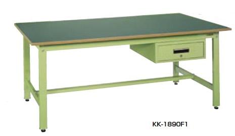 サカエ KK 軽量作業台 均等耐荷重:350kg・引出し50kg【KK-1890F1】