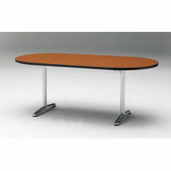 ミーティングテーブル ATTシリーズ 楕円型 幅1800×奥行き750mm 5色対応【ATT-1875RS】