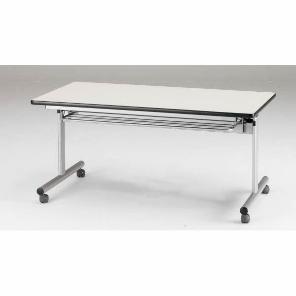 FCTシリーズ ホールディングテーブル 棚付 幅1200×奥行750×高さ700mm 5色対応【FCT-1275】