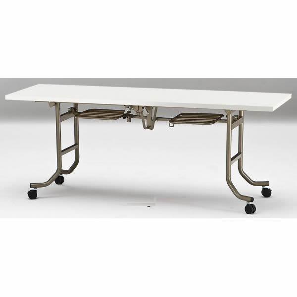 会議テーブル FLTシリーズ 共貼りタイプ 幅1800×奥行き600×高さ700mm【FLT-1860】