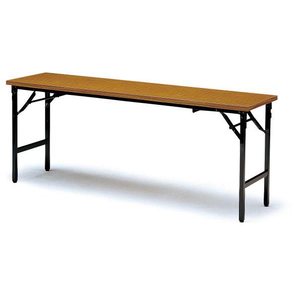 座卓兼用テーブル TKAシリーズ 共貼りタイプ 幅1800×奥行450mm【TKA-1845】