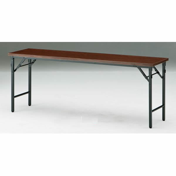 折り畳みテーブル TWシリーズ 棚無 幅1200×奥行750×高さ700mm【TW-1275TN】