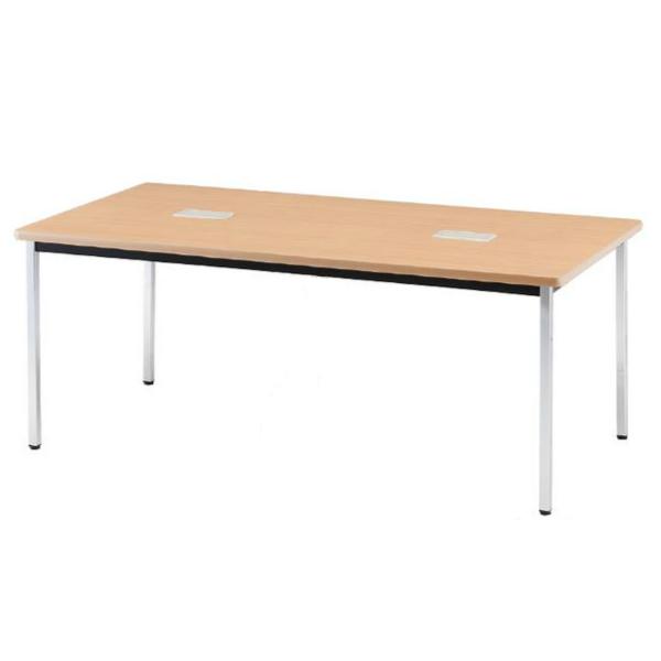 会議テーブル PTDテーブル 丸脚 幅1500×奥行き900×高さ700mm【PTD-1590M】