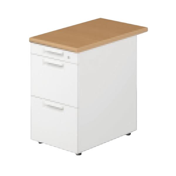 LEED Desk(リードデスク) デスクアクセサリー 脇机 A-3段 幅400×奥行700mm【LE-047A-3】
