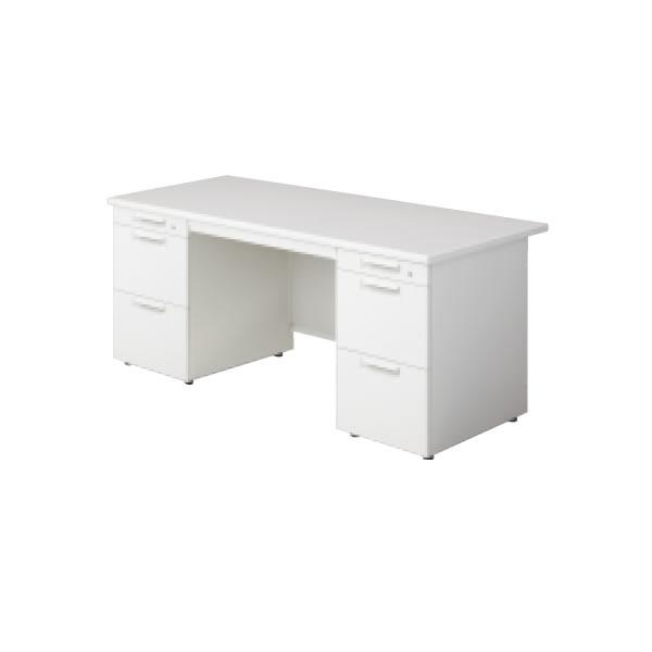 LEED Desk(リードデスク) 両袖机 (A-3段袖×A-3段袖) 幅1400×奥行700mm【LE-147A-33】