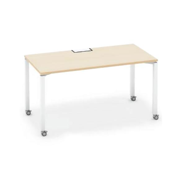 ワークフィット スタンダードテーブル 片面タイプ 幅1400×奥行700 アジャスター脚【SD-WFA147】