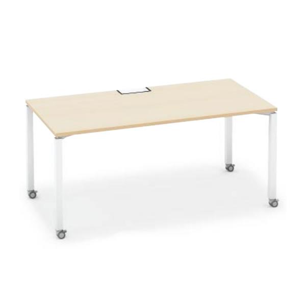 ワークフィット スタンダードテーブル 片面タイプ 幅1600×奥行800 アジャスター脚【SD-WFA168】