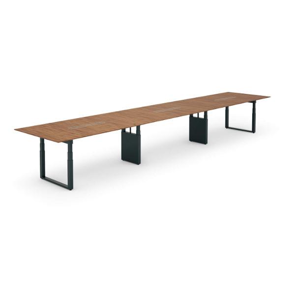 コクヨ 【WT-SX】天板昇降 会議テーブル 幅7200mm【WT-SXS7214】