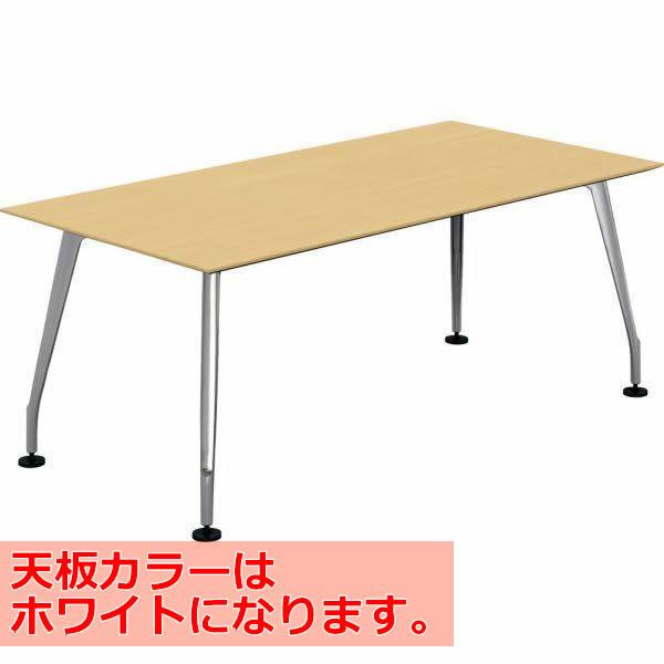 コクヨ SAIBI(サイビ) ミーティングテーブル スクエアタイプ(単体) 配線なし 塗装脚 ホワイト天板 幅1800×奥行900mm【SD-XK189AS81PAW】