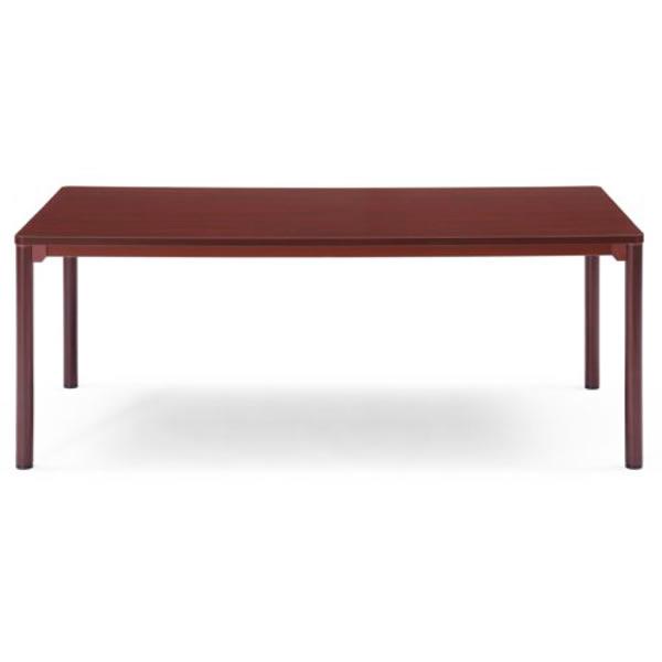 応接テーブル センターテーブル 丸脚 幅1800×奥行900×高さ700mm【CTR-1890】