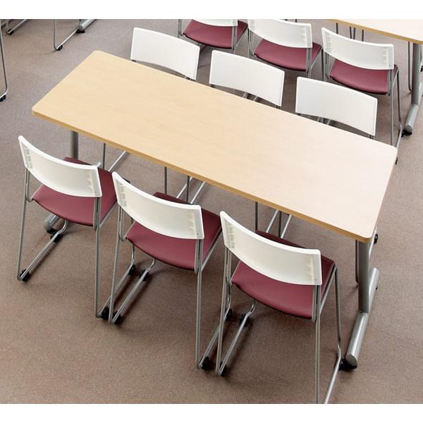 当店一番人気 送料無料 ミーティングテーブル MTS MTS-1875K-M1 新作入荷 幅1800×奥行き750mm 角形