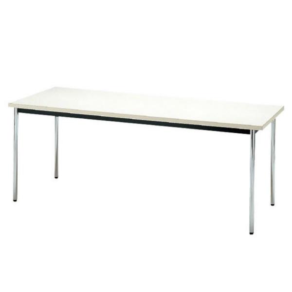 会議テーブル TDS・TDシリーズ TD 棚無 丸脚 幅1800×奥行き900×高さ700mm【TD-1890M】
