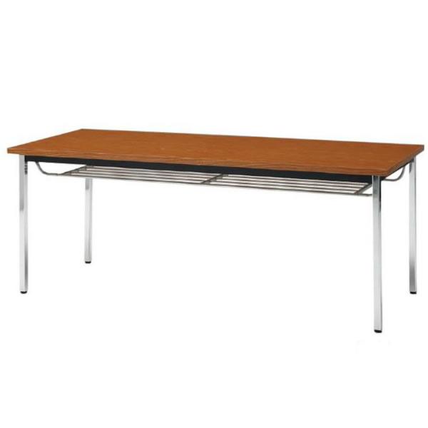 会議テーブル TDS・TDシリーズ TDS 棚付 角脚 幅1500×奥行き600×高さ700mm【TDS-1560TK】