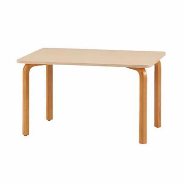 食堂用テーブル 幅1200mm×奥行750mm×高さ700mm【FM-1275N】