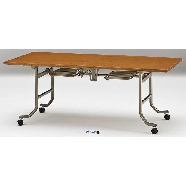 会議テーブル FLTシリーズ 共貼りタイプ 幅1800×奥行き750×高さ700mm【FLT-1875】
