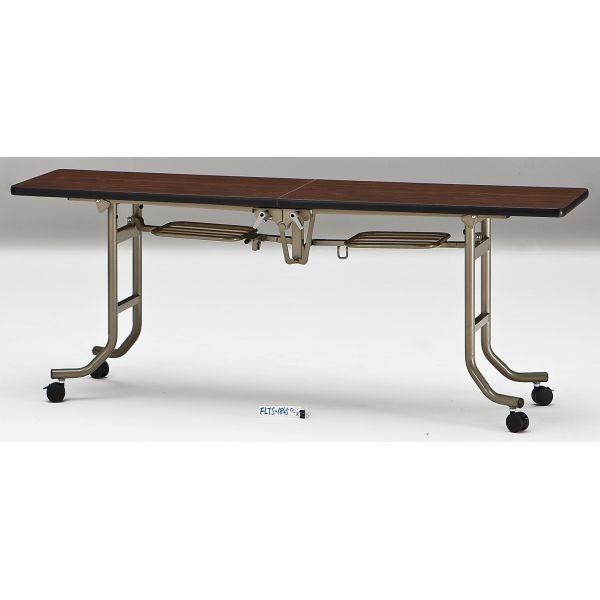 会議テーブル FLTシリーズ エラストマエッジタイプ 幅1800×奥行き450×高さ700mm【FLTS-1845】