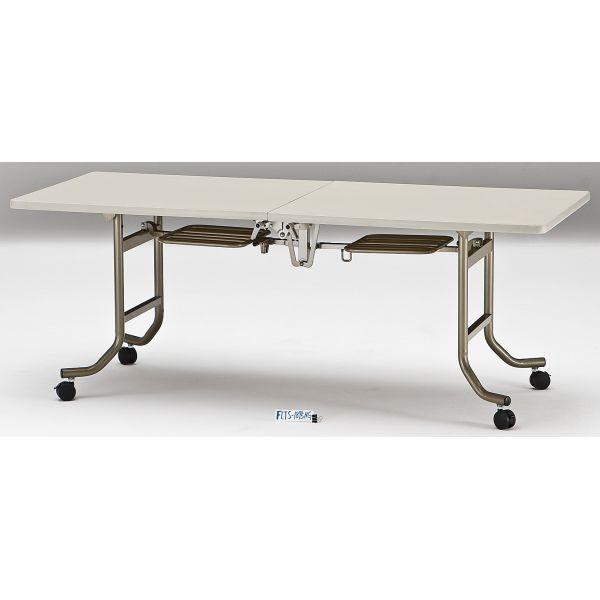 会議テーブル FLTシリーズ エラストマエッジタイプ 幅1800×奥行き600×高さ700mm【FLTS-1860】