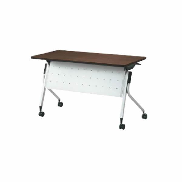 Linello2(リネロ2) フォールディングテーブル 幕板付 幅1200×奥行600×高さ720mm【LD-420M】