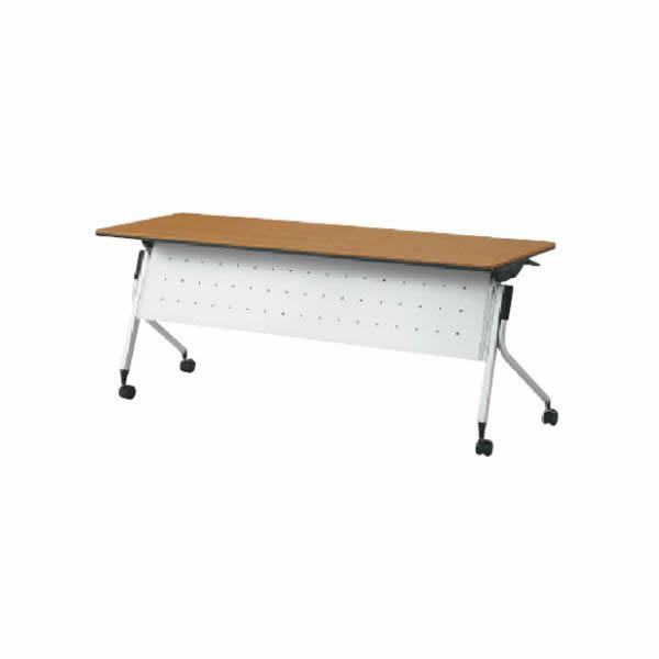 Linello2(リネロ2) フォールディングテーブル  幕板付  幅1800×奥行450×高さ700mm【LD-615M-70】