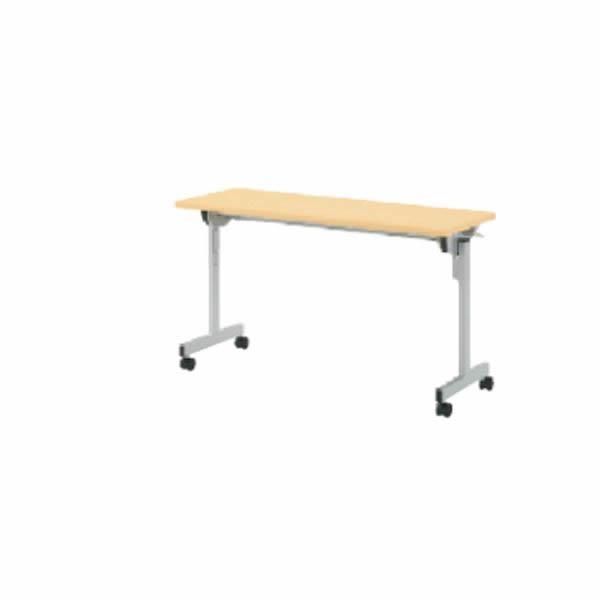 QFテーブル フォールディングタイプ  幕板なし/棚なし  幅1500×奥行600×高さ700mm【QF-520】