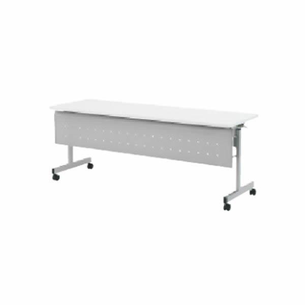 QFテーブル フォールディングタイプ  幕板付/棚なし  幅1500×奥行450×高さ700mm【QF-515M】