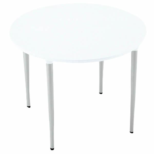 XMテーブル 高さ720タイプ/配線孔なし 幅900×奥行900mm 脚カラー(シルバー)【XM-090PSHM4】