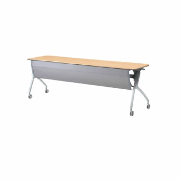 Luarco フォールディングテーブル スクエア天板 幕板付・配線孔なし 幅1500×奥行600×高さ720mm【XT-520SM】