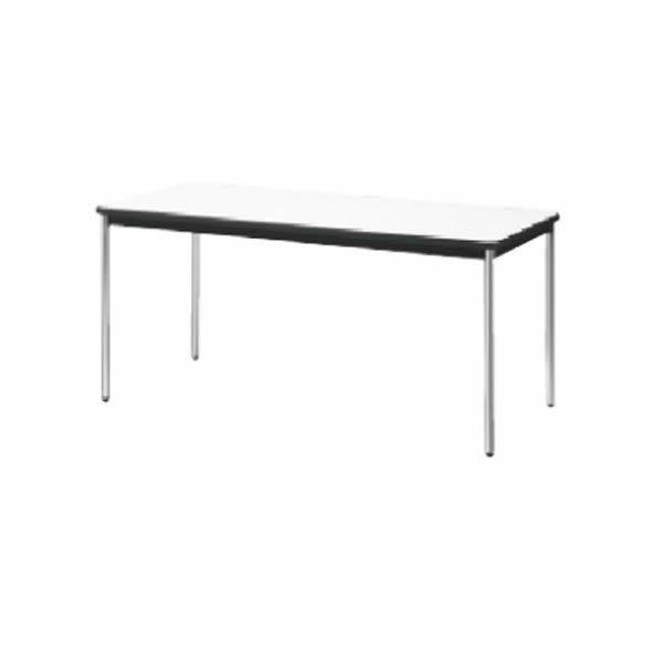 YB2テーブル  棚無し メッキ脚  幅1800×奥行750×高さ700mm【YB-S625N】