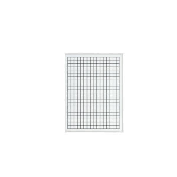 LB2シリーズ ホワイトボード 壁掛けタイプ グラフ方眼 幅600×奥行65×高さ900mm (423-907)【LB2-320-K050】