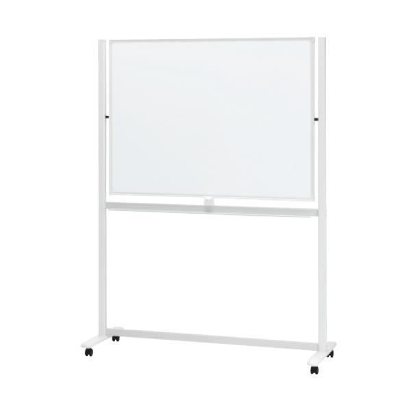 LB2シリーズ ホワイトボード 脚付 プロジェクタ投影対応タイプ 幅1346×奥行594×高さ1800mm (423-853)【LB2-340PSA】